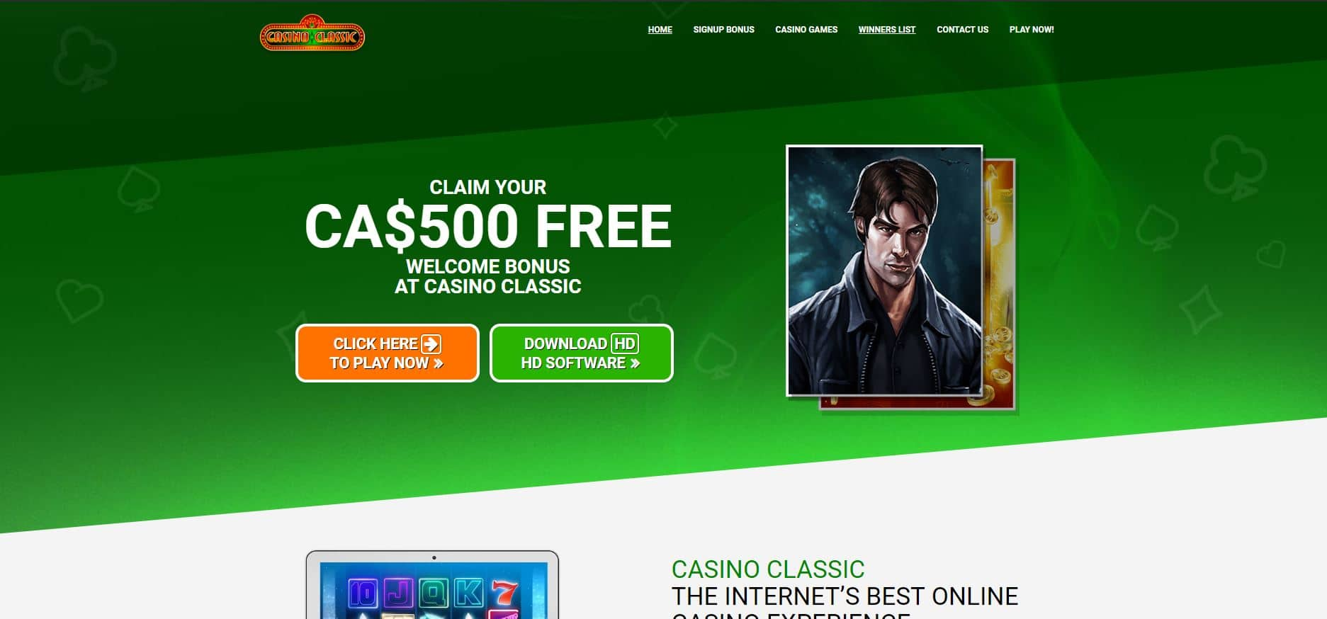 Casino classic review : a good opportunity to earn money ?